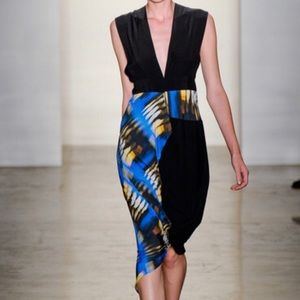 Zero + Maria Cornejo Silk Skirt